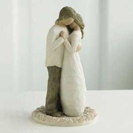 Willow Tree Wedding  Cake Topper-- but one with a child for Gavin too