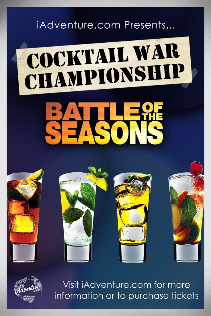 Be witness to the Iron Chef of cocktail competitions! Check out the ultimate showdown of mixology