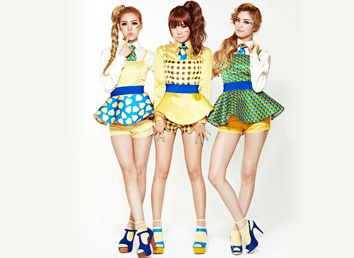 "Orange Caramel's ""Lipstick"" 1st Album Photo Shoot"
