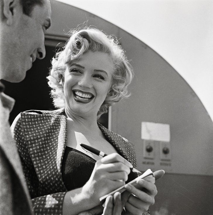 Pin for Later: 19 ikonische, glamouröse Fotos von Marilyn Monroe
