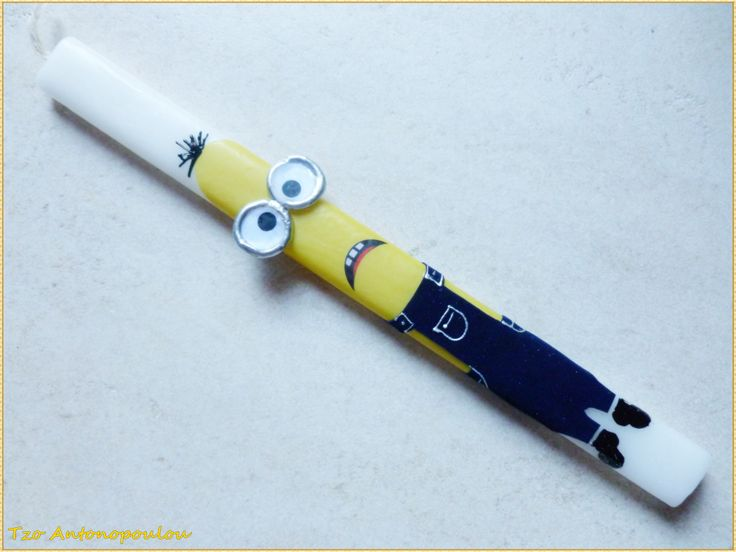 Minion easter candle!  https://www.facebook.com/TzoAntono13