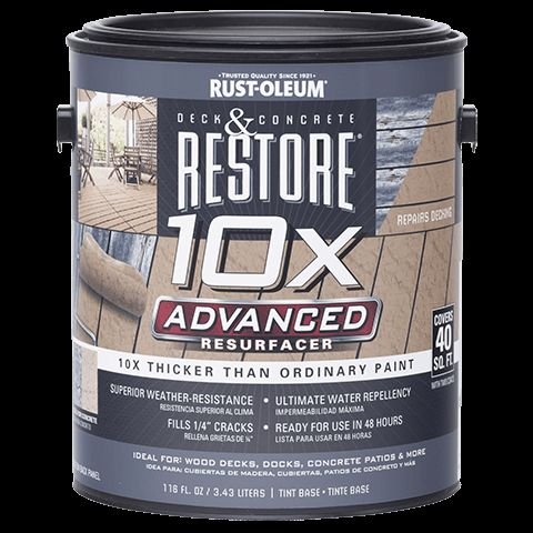 Restore 10x Advanced 116 Oz Formulated To Resurface All
