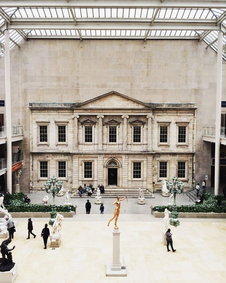 The Met // New York NY.  Photo by James Carpenter  #GoGoNYWeek