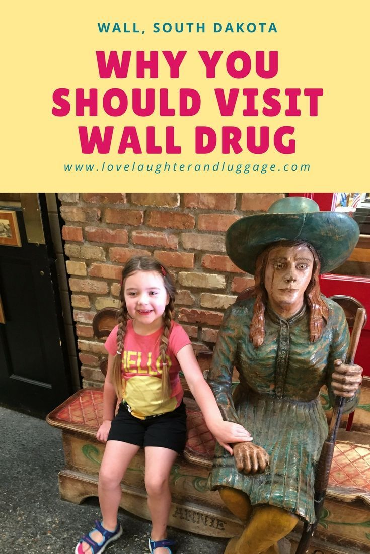 Visit Wall Drug in Wall, South Dakota.  Explore and purchase souvenirs. This a popular stop along the highway in the Black Hills.