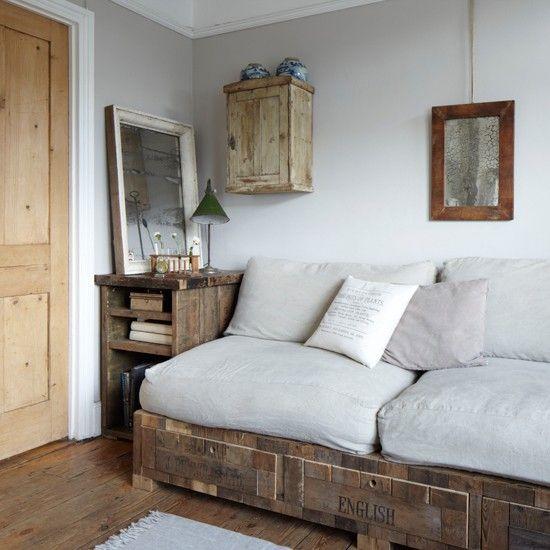Geborgene Holz Wohnzimmer Wohnideen