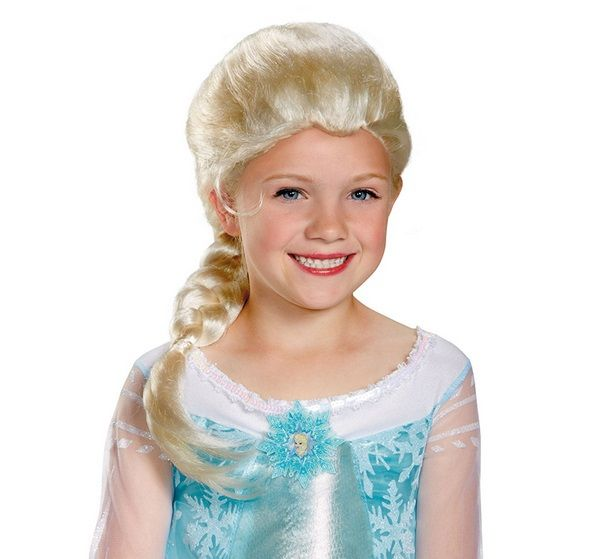 FROZEN ELSA CHILD WIG LICENSED DISNEY - Imaginations Costume   Dance c0ed5d82d1b