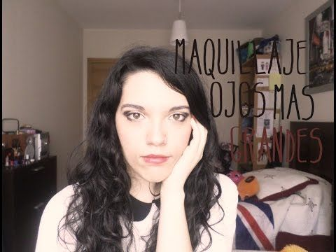 maquillaje ojos mas grandes | PrettyMakeUP Love - YouTube