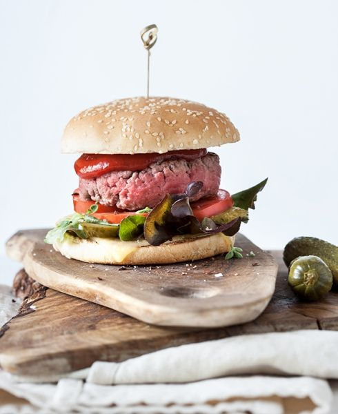 Hamburger di manzo - Csaba dalla Zorza