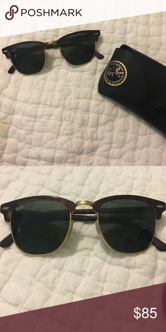 Ray Ban Clubmasters Tortoise shell/gold clubmasters Accessories Sunglasses