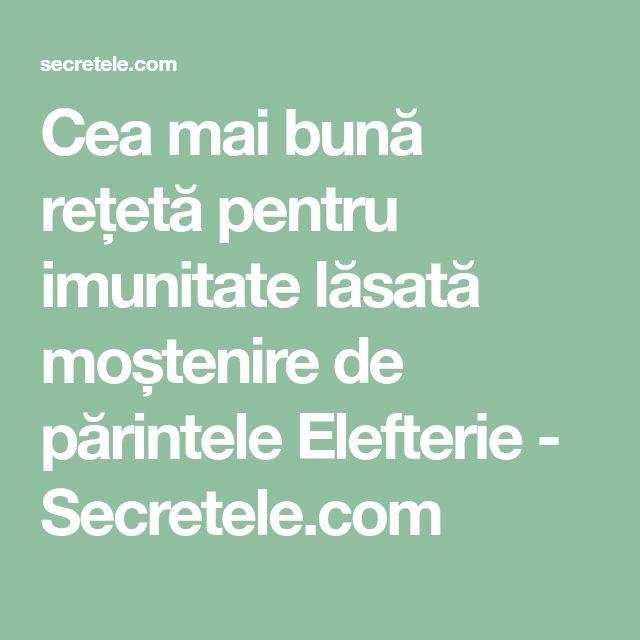 Cea mai bună rețetă pentru imunitate lăsată moștenire de părintele Elefterie - Secretele.com