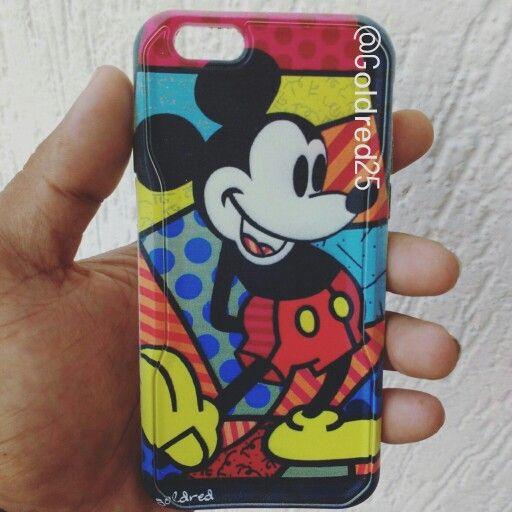 Mickey  tu personaje favorito lo puedes llevar siempre en tu estuche de celular  que esperas