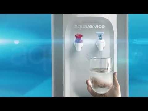 Aquaservice, reparto a domicilio con dispensador de agua