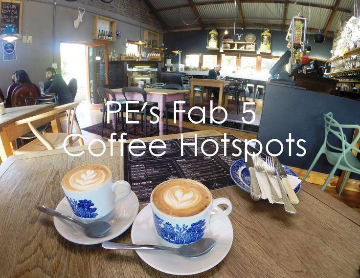 PE's Fab 5 Coffee Hotspots