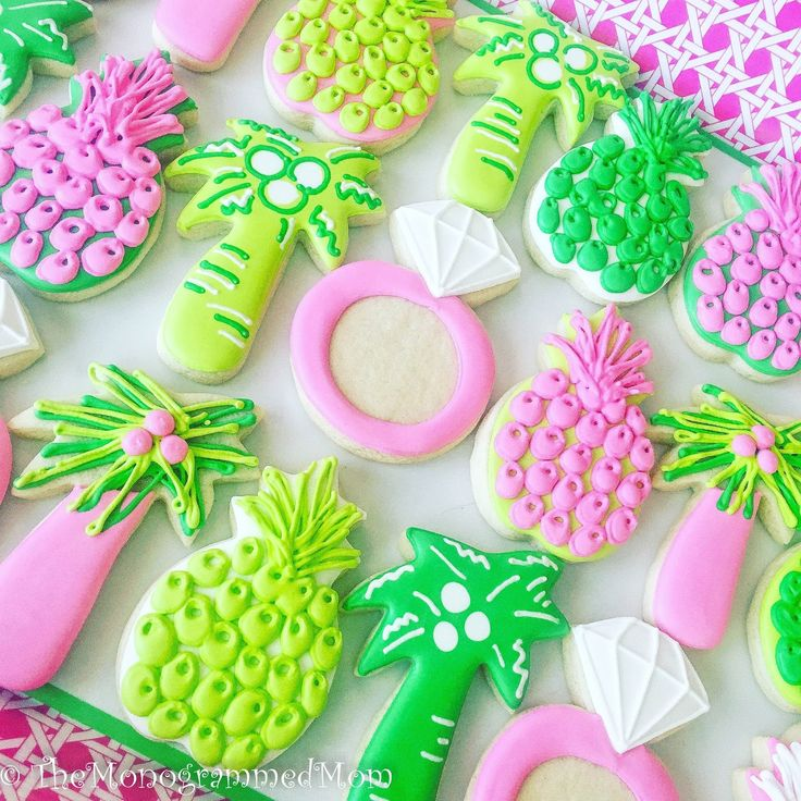 The Monogrammed Mom: A Lilly Pulitzer Inspired Bridal Shower