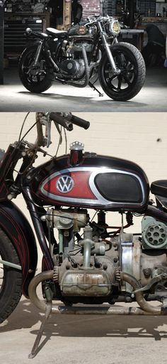 BSA and Von Dutch's VW bike