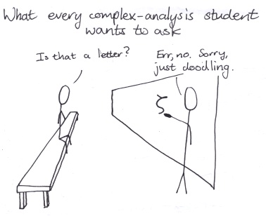 What every complex analysis student wants to ask...