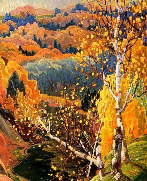 October Gold - Franklin Carmichael, 1922
