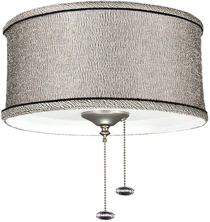 2Light Ceiling Fan Light Kit Kohiba Pewter Summey