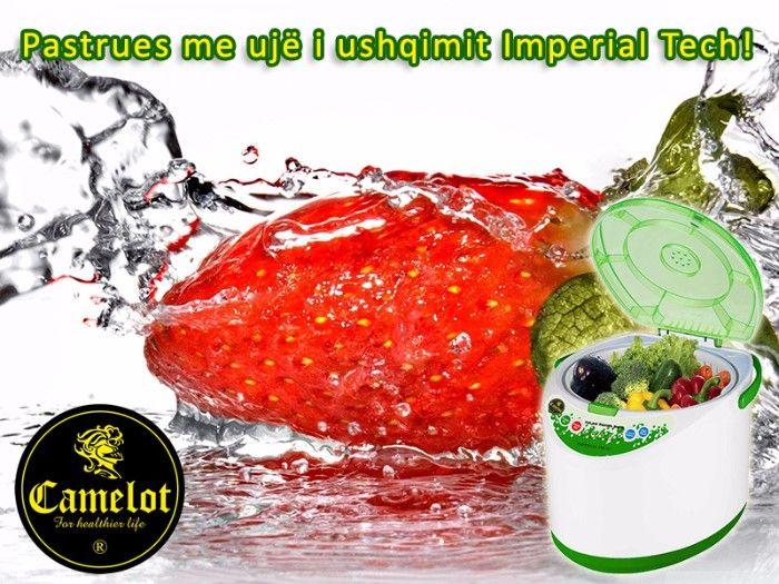 Pastrues pa ujë i ushqimit Imperial Tech. Për fruta dhe perime pa pesticide.