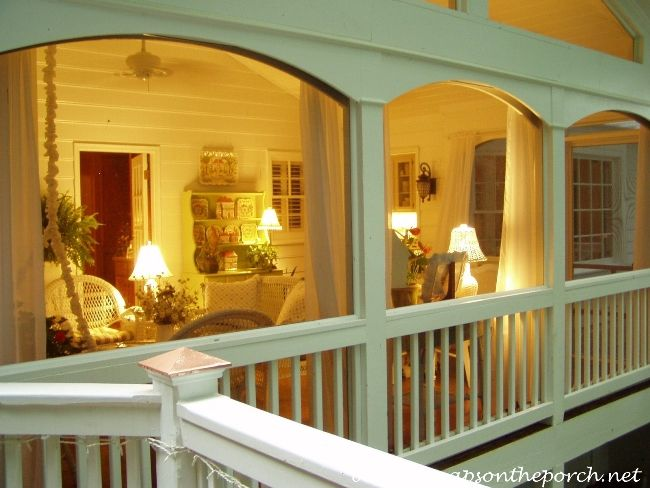 Between Naps on the Porch | 9 Great Features for Your Screened-In Porch | http://betweennapsontheporch.net