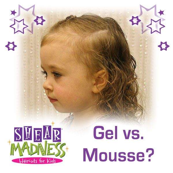 When it comes to kids hair and hairstyles, should you use styling gel or mousse? As a children's hair salon, we've put a lot of products to the test. Find out what we think at the link below! #hair #hairstyle #hairproducts #kidssalon #kids  http://franchise.shearmadnesskids.com/blog/bid/115961/Curly-Hair-Battle-Mousse-Vs-Gel-Who-Wins-the-Ringlet-War