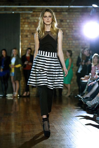 taylor 'Incision' collection SS13 -Intervene Top and Radiant Skirt and Cogent Pants. Photo by Won at W Studio