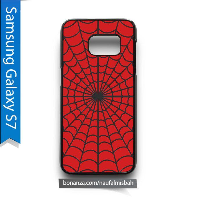 Spiderman Web Marvel Samsung Galaxy S7 Case Cover