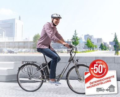 "Hofer E-Bike 2015: Billiges Alu-Elektro-Fahrrad 28"" mit Frontmotor im Fakten-Test - http://www.ebike-news.de/hofer-ebike-2015-billig-alu-elektro-test/8585/"