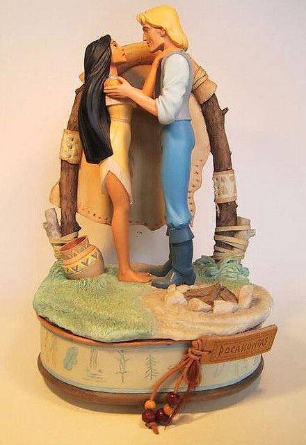 Wedding Cake Topper Even Though Pocahontas Married John