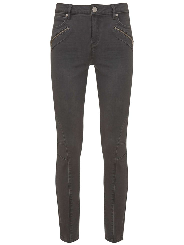 Buy your Mint Velvet Darby Grey Biker Skinny Jean online now at House of Fraser. Why not Buy and Collect in-store?