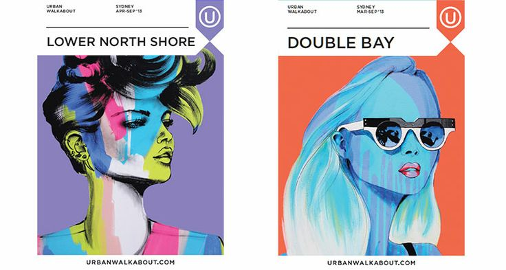 Lower North Shore Double Bay Anya Brock: Cover Artist - Urban Walkabout sydney blog
