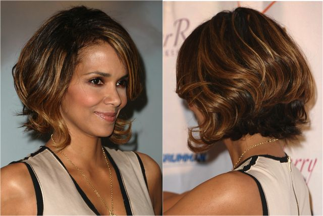 The 20 Hottest Bob Hairstyles for 2014: Halle Berry's Graduated Bob