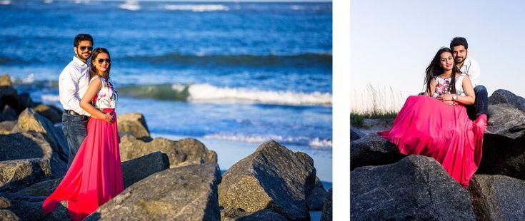 Beach Engagement Photography Jacksonville