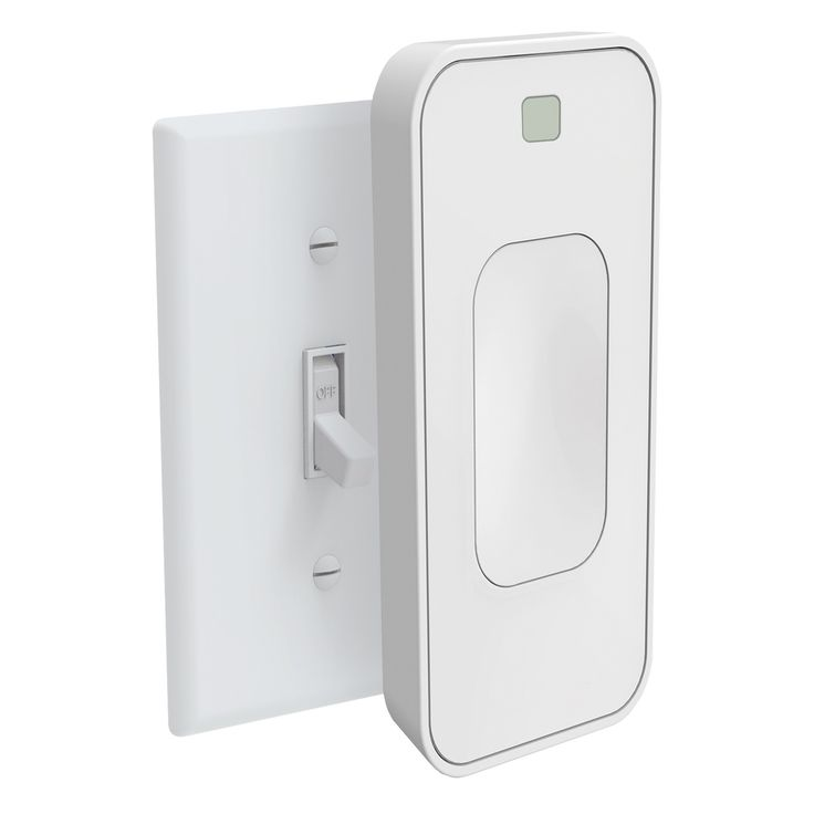 Switchmate instantly snaps over existing light switches to bring motion activated smart lighting into your home. Controlled on your phone and installed in one-second, Switchmate has a built in motion sensor that turns lights on and off automatically as you enter and exit rooms. Utilize the timers feature to have lights turn on/off automatically, even when you are away from home. Or have your lights greet you when you drive up to your home with the welcome home feature. Control Switchmate...