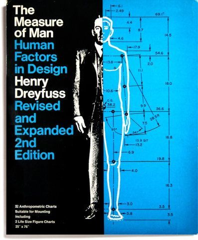 Spectacular The Measure of Man Human Factors in Design by Henry Dreyfuss Revised and Expanded edition