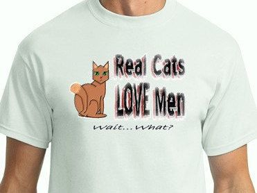 Funny Tshirt idea for Father's Day (even if his only kid is the cat)