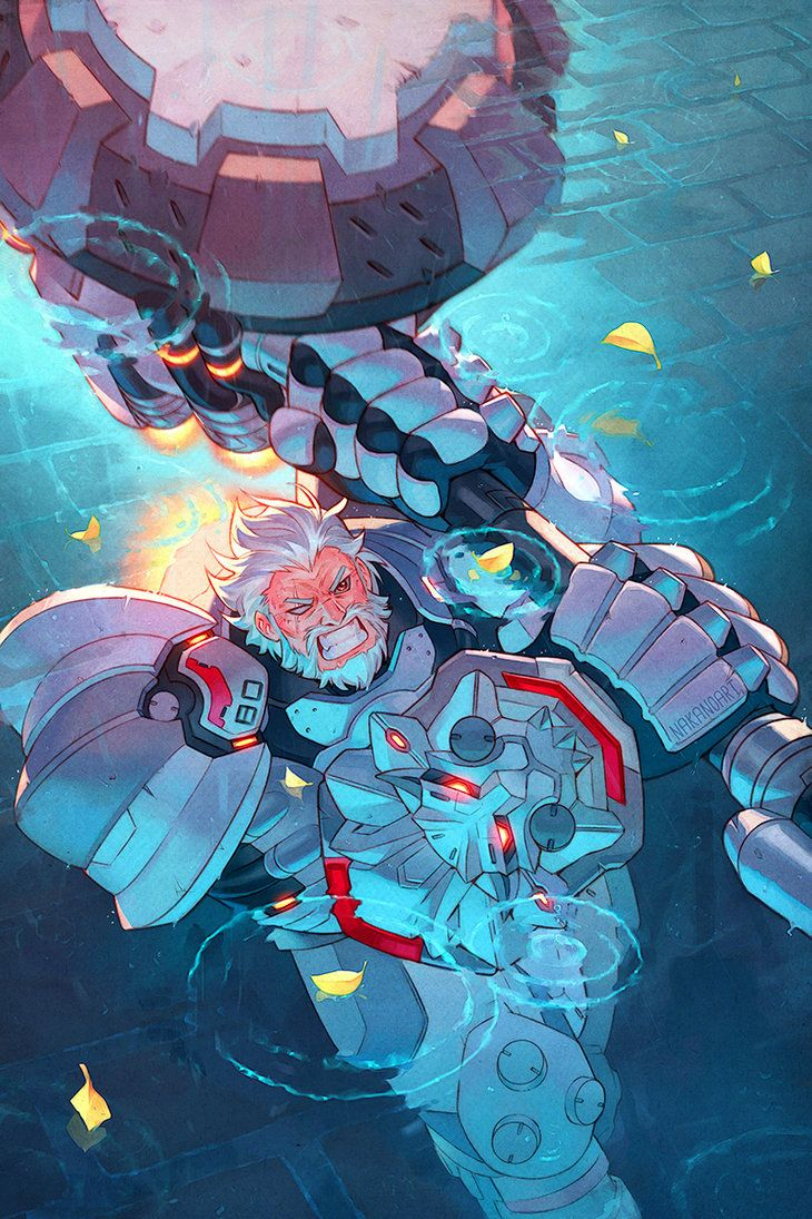 """""""HAMMER DOWN!"""" So, I have been looking forward to the release of Overwatch for quite some time, I had even done some fanart for it already. So when I received a commission from DeviantART for Blizz..."""