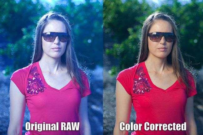 How to color correct skins in Lightroom