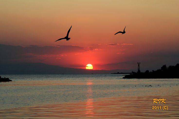 Twin Wing Fly By. #sunset #visitgreecegr #inhalkidiki #visithalkidiki #greeceinphotos
