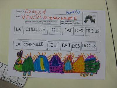 mermoz2009ms1: LA CHENILLE QUI FAIT DES TROUS