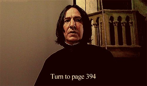 """When he iconically asked the class to turn to page 394. 