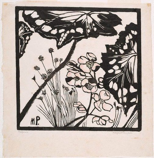 An image of Begonia by Margaret Preston
