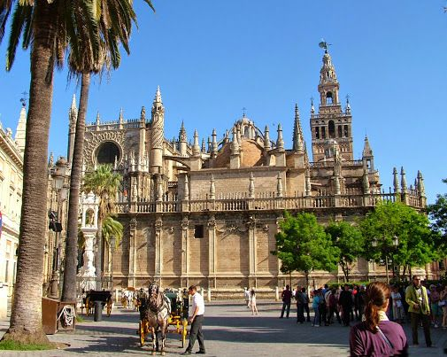 Winter City Breaks in Spain There's more to Andalusia than the Costas:  city breaks, Saville, Córdoba, Málaga  and an option to also visit  Aznalcázar, Écija, Huelva and Antequera
