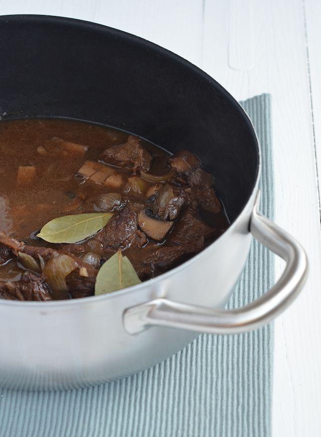 Stoofpotje van rundvlees met balsamico