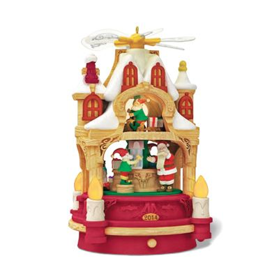 WHERE DREAMS BECOME TOYS. Hallmark 2014 Features a German Christmas pyramid…