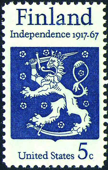 The Republic of Finland was founded in 1917 by Marshall Gustav Mannerheim at the end of World War I.