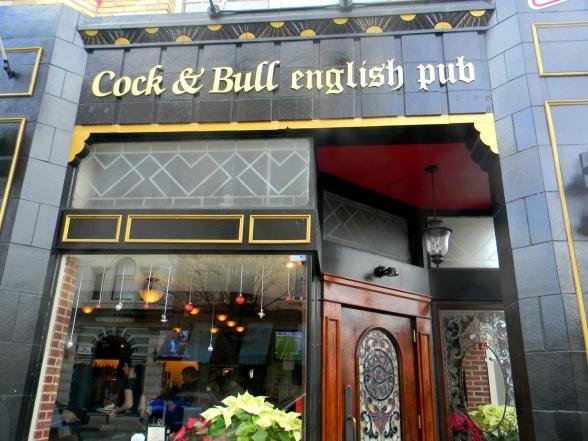 cock and bull pub cincinnati