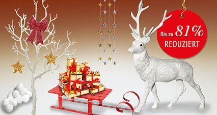 Entdecken Sie passend zur #Weihnachtszeit viele neue #Schnäppchen   in unseren #Angeboten des Monats! Bis zu 81% #reduziert ! #Weihnachtsdeko #Winterdeko #Deko #Dekoration http://www.decowoerner.com/de/Aktuelles-11321/Angebote-des-Monats-11492.html