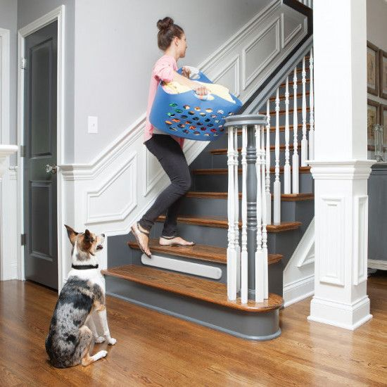 Pawz Away® Threshold Pet Barrier- Keep your pet downstairs without a physical barrier.