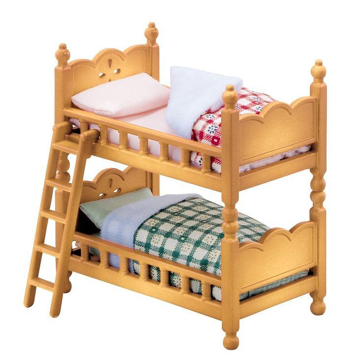 Epoch Sylvanian Families Sylvanian Baby And Child Room Set Double Deck Bed  Ka 302 Part 65